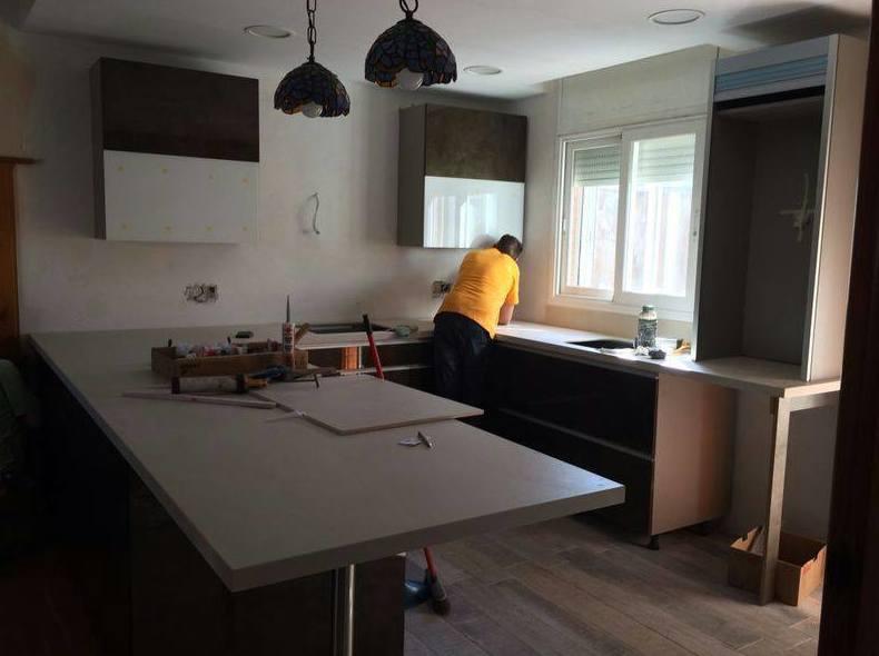 Instalación de muebles de cocina Lleida