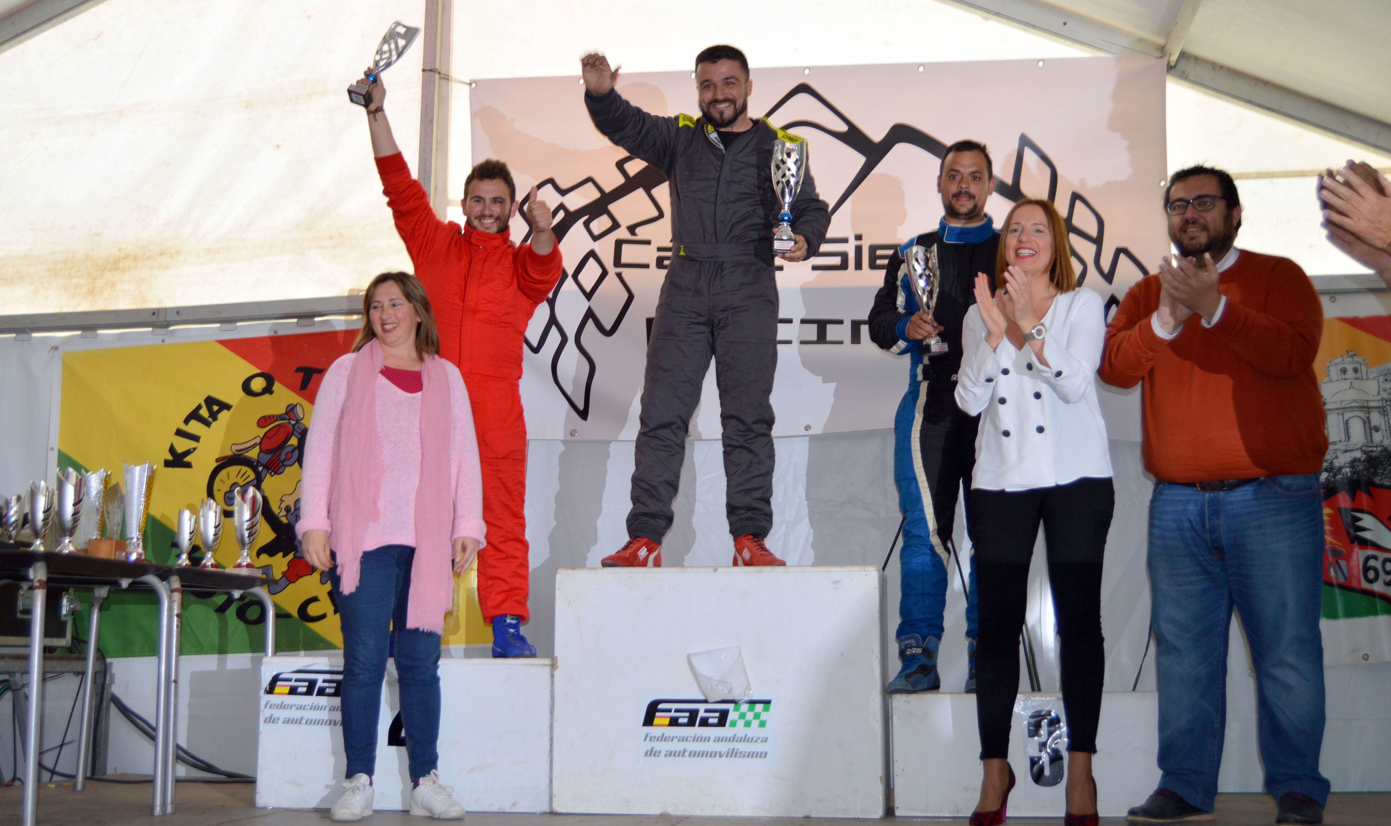 podio rally andalucia jopesa taller electrico mecanico