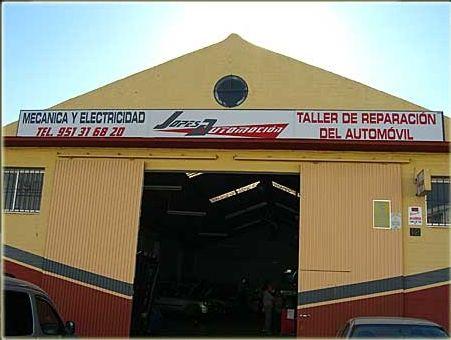 Taller de automóviles en Estepona