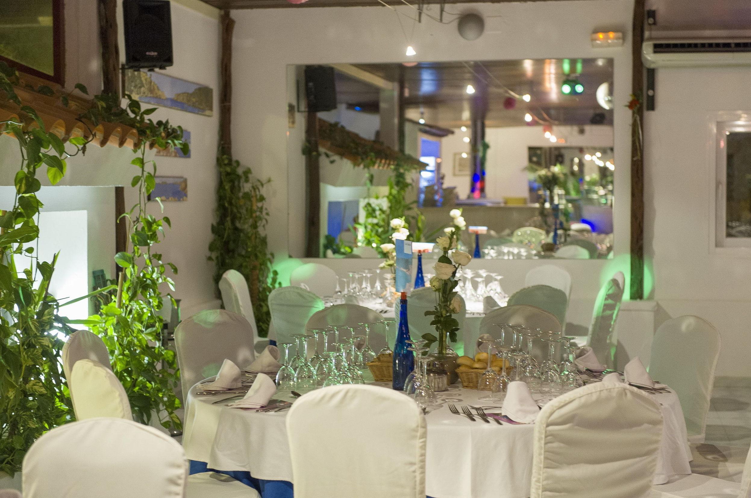 Un restaurante para la celebración de bodas