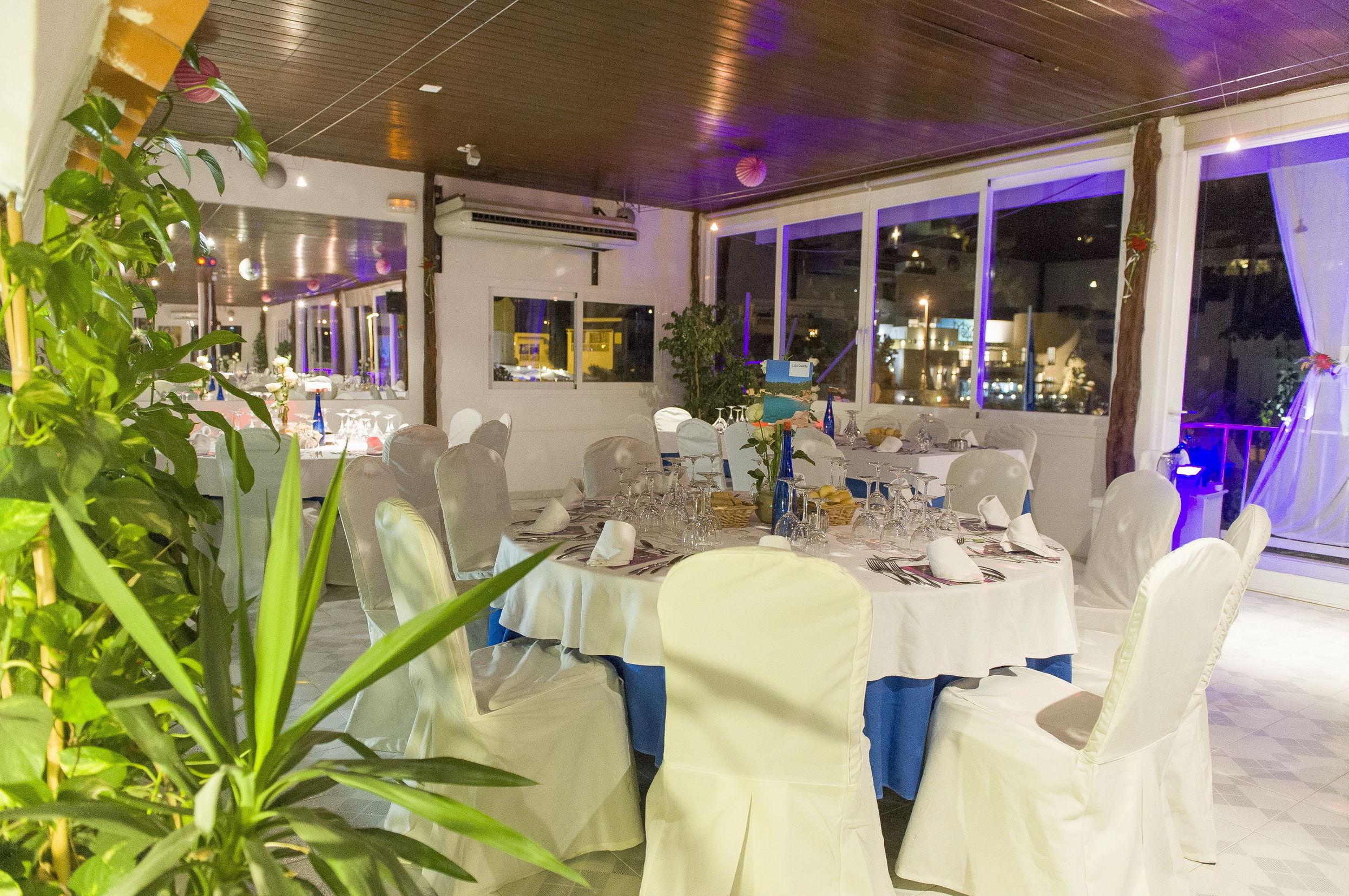 Restaurante con entorno privilegiado