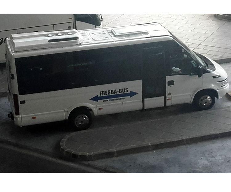 Autobuses para traslados a hoteles