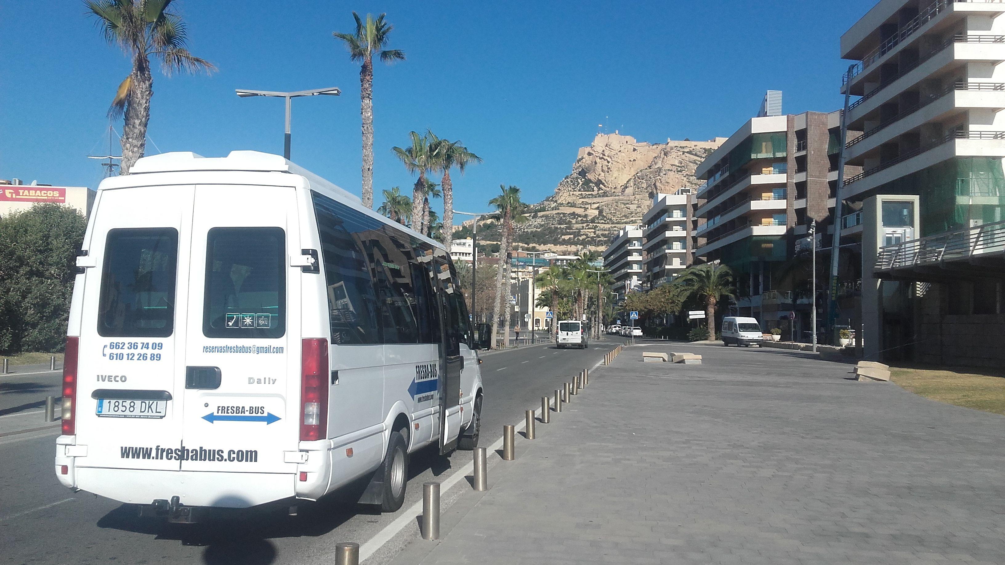 Servicio de autobuses en Alicante