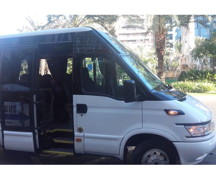 Servicio discrecional de autobuses