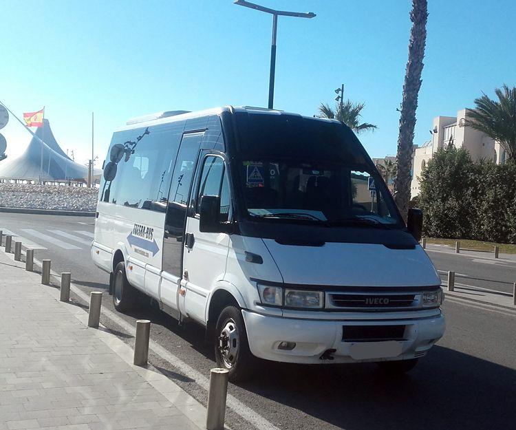 Traslados al aeropuerto en autobús