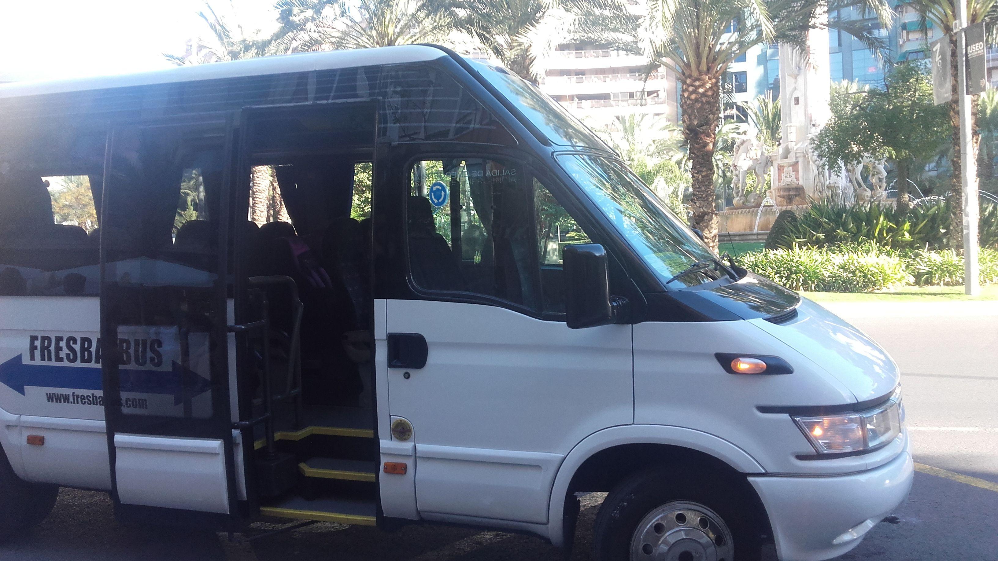 Flota de vehículos: Servicios de Autocares Alicante