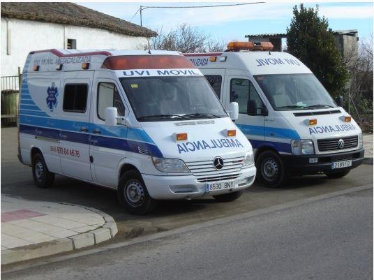 Alquiler de ambulancias en León, Palencia y Valladolid