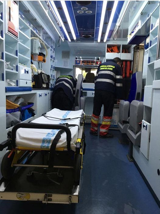 Alquiler de ambulancias Palencia, León y Valladolid