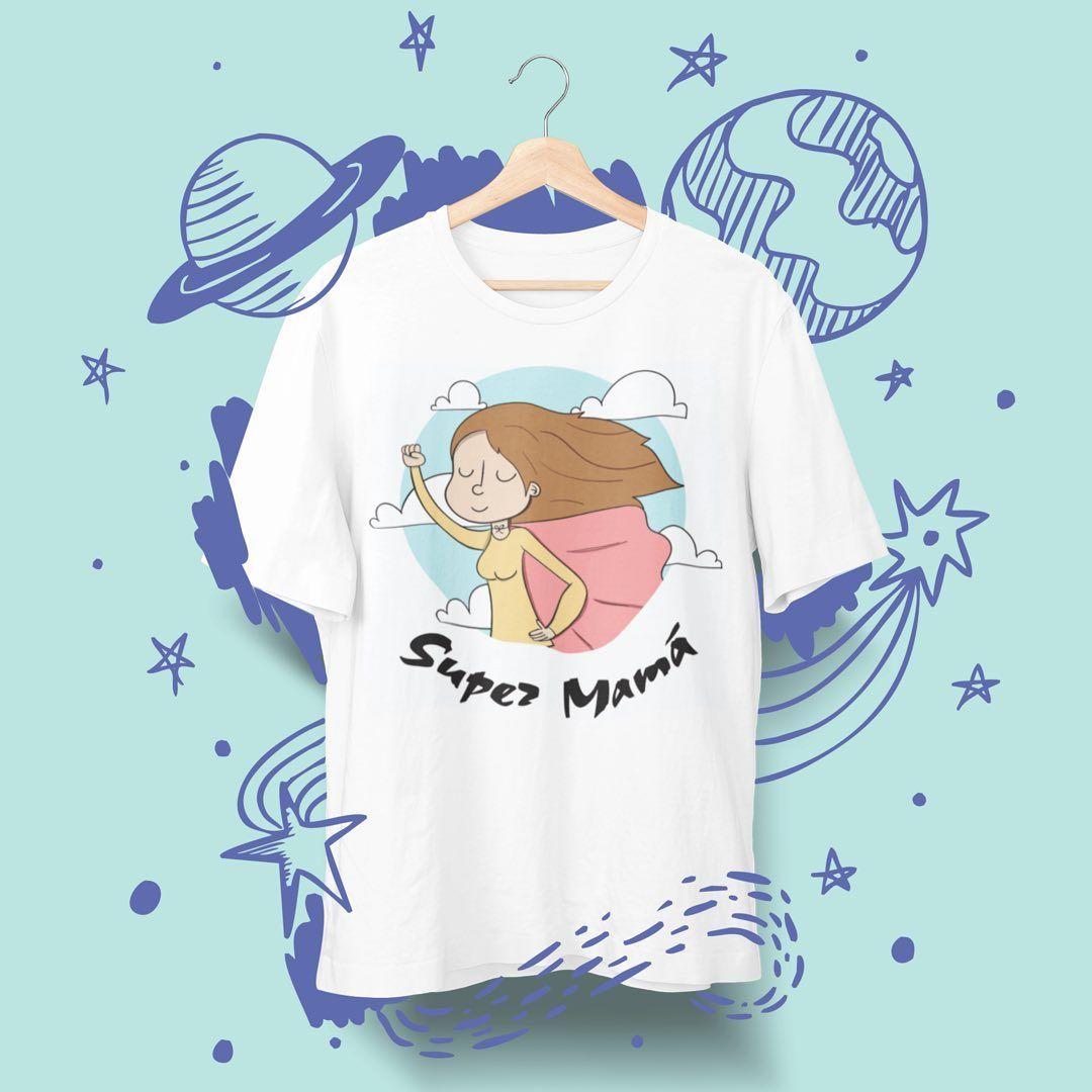 Os dejamos esta propuesta de camiseta y sudadera para súper madres. ¡No esperes más! 692582554