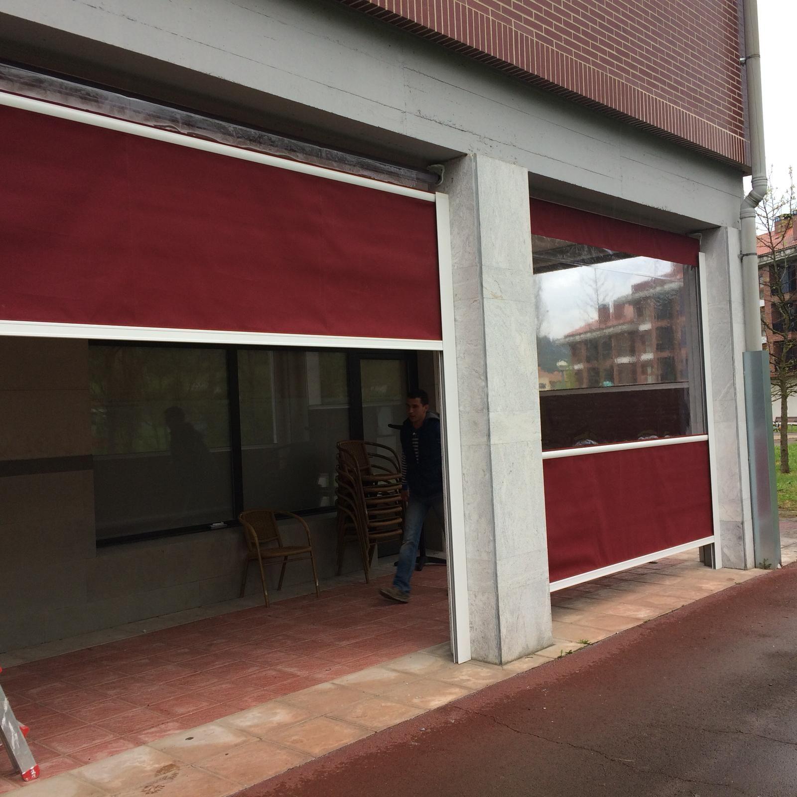 Instalación de toldos y cortinas en Bilbao