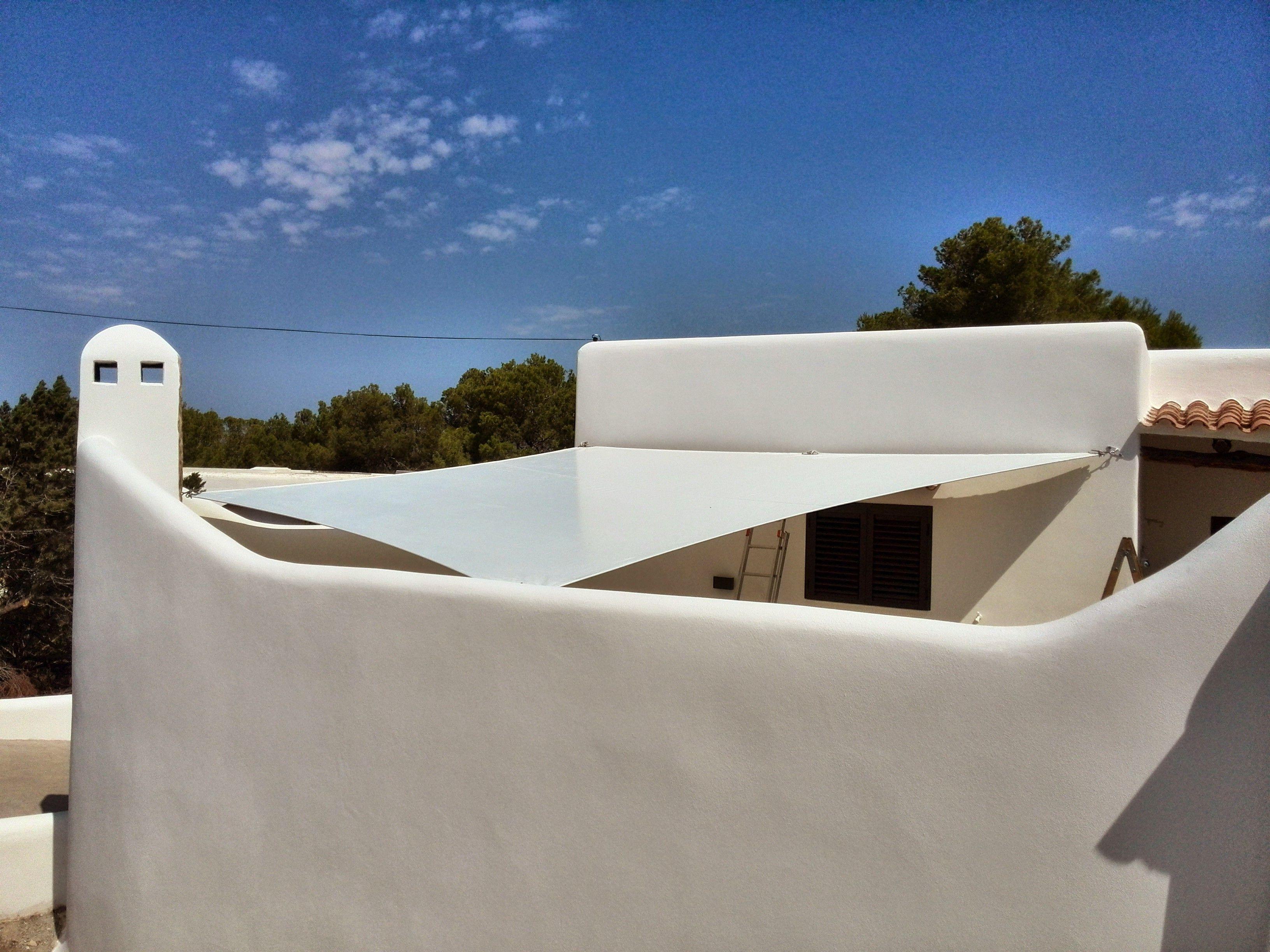 Toldos y pérgolas en Ibiza