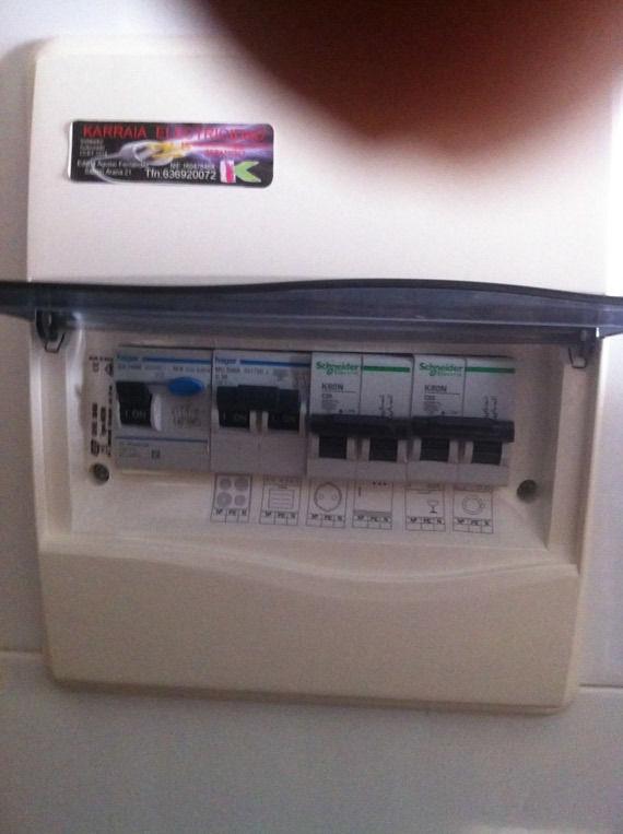 Foto 22 de Electricidad en Urduliz | Karraia Electricidad