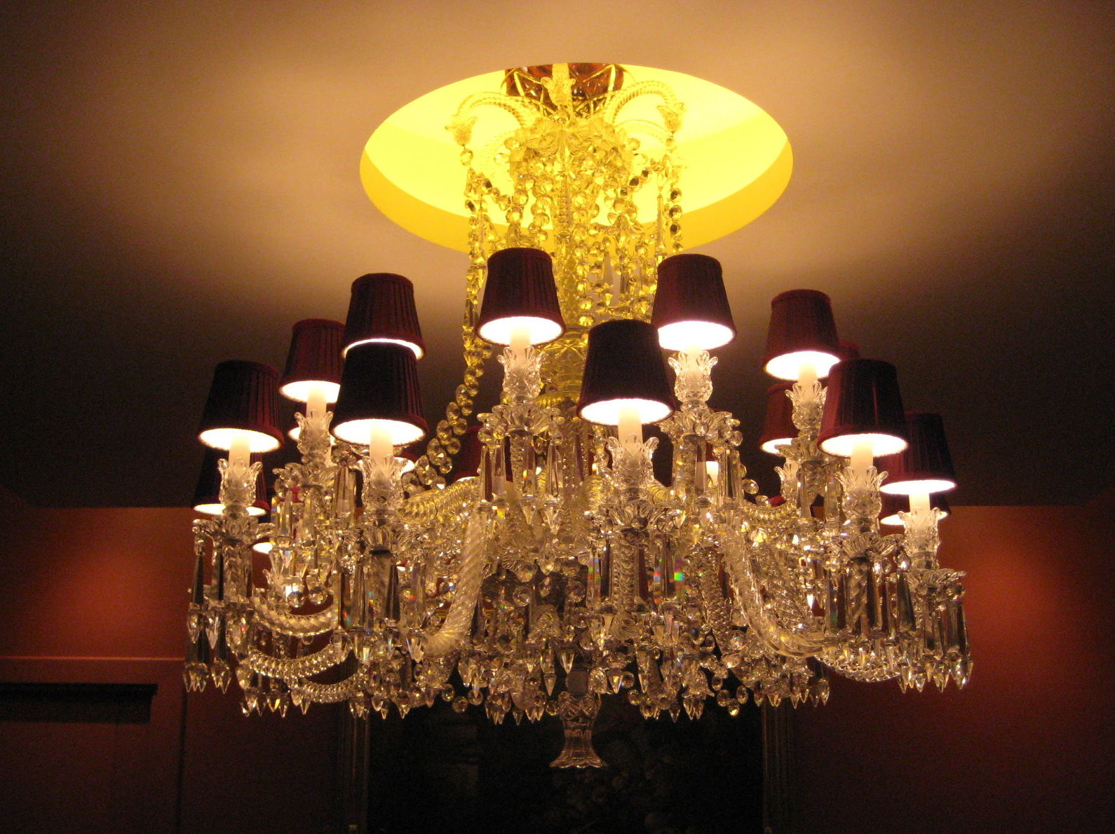 Lámpara 18 luces.