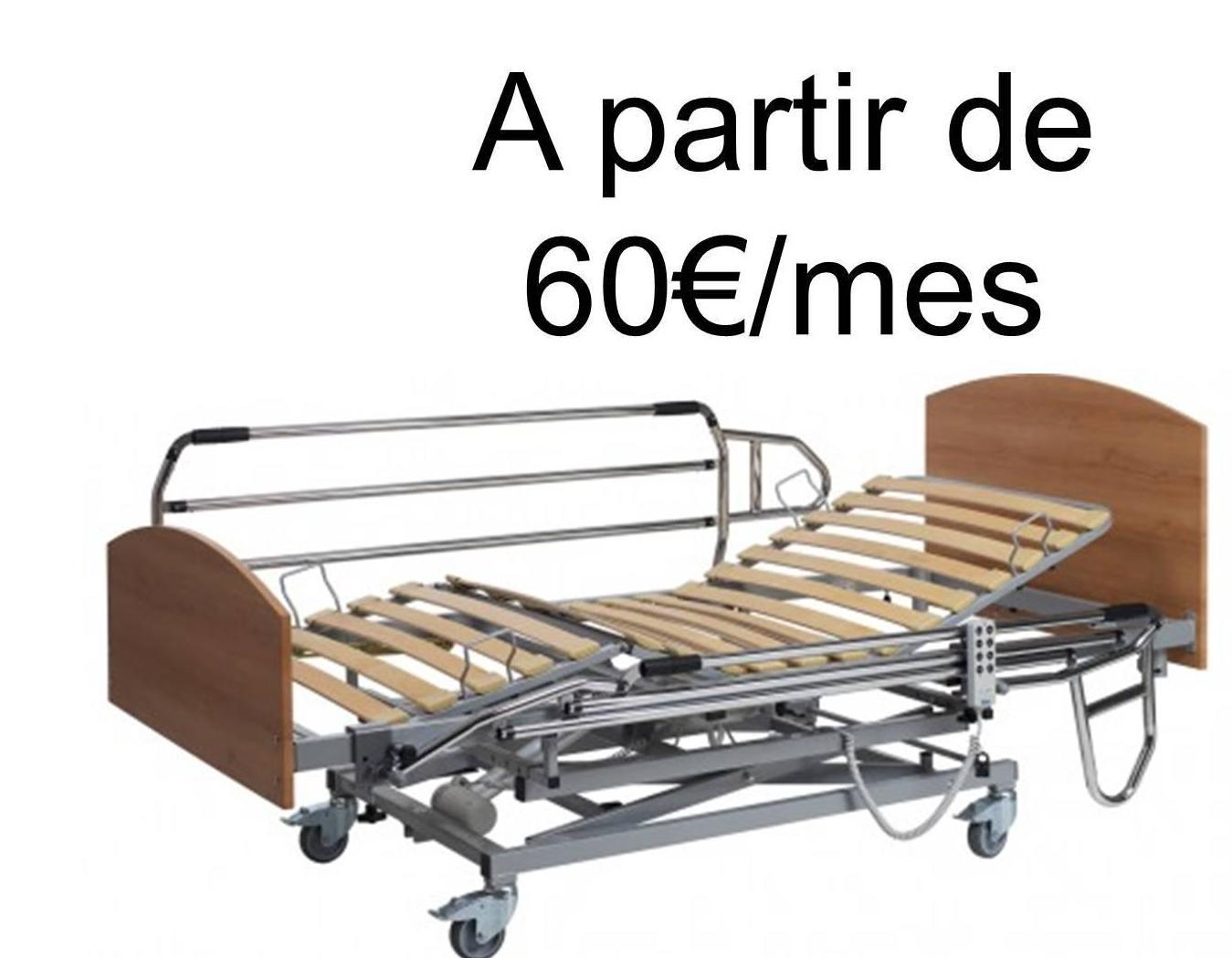Alquiler cama geriátrica