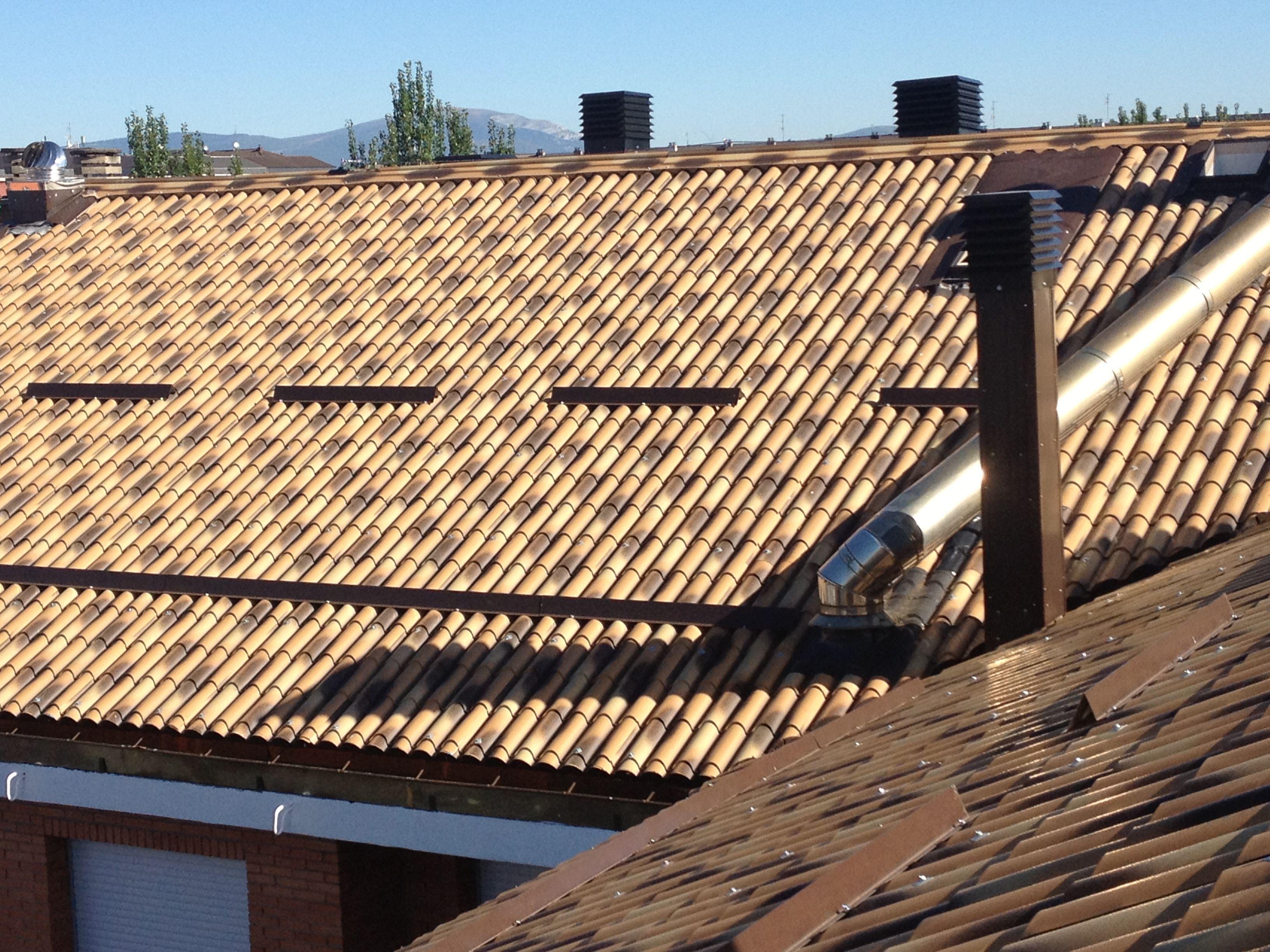 Foto 9 de Cubiertas y tejados en Vitoria-Gasteiz | Cubiertas Jesan
