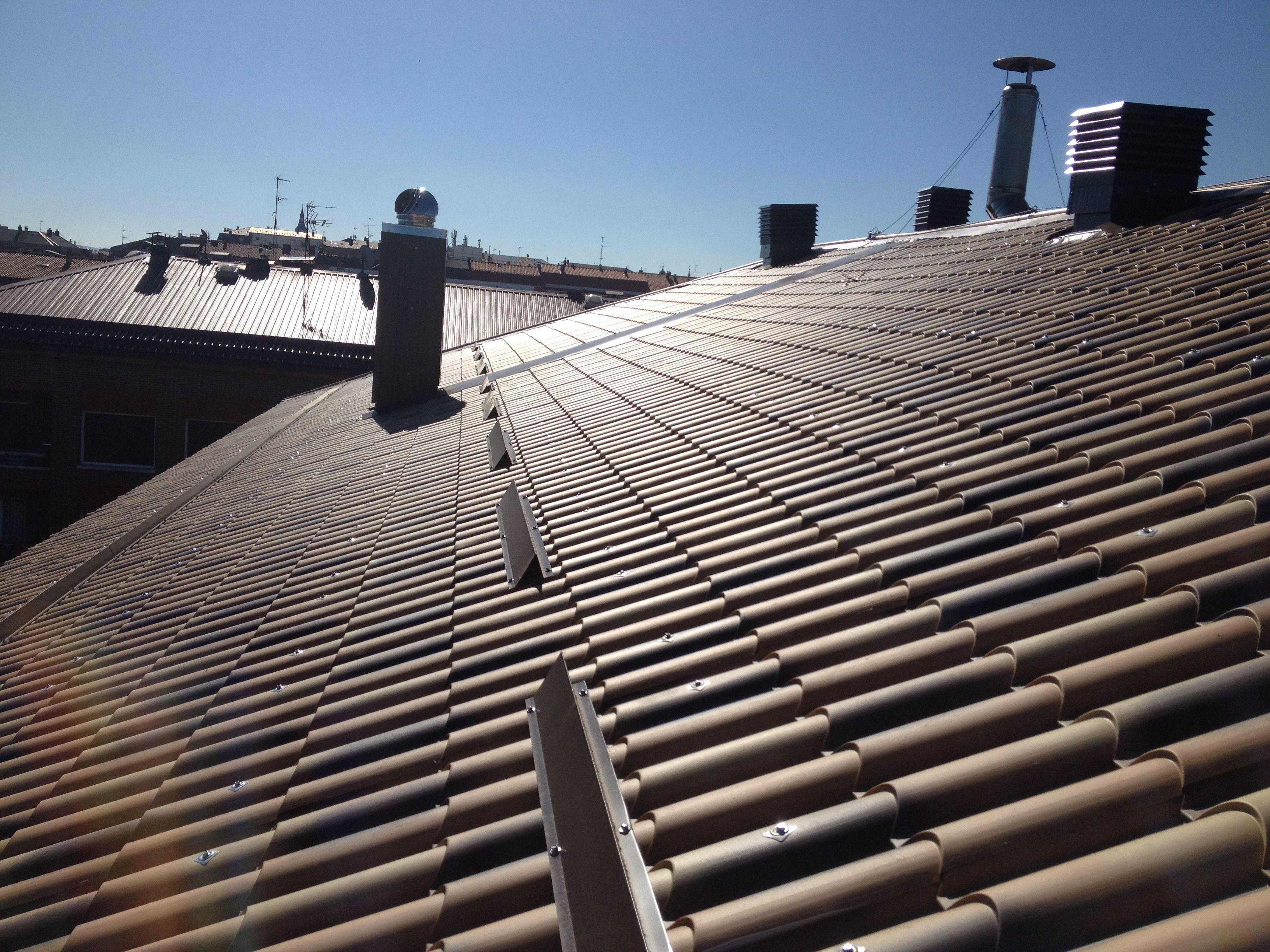 Foto 6 de Cubiertas y tejados en Vitoria-Gasteiz | Cubiertas Jesan