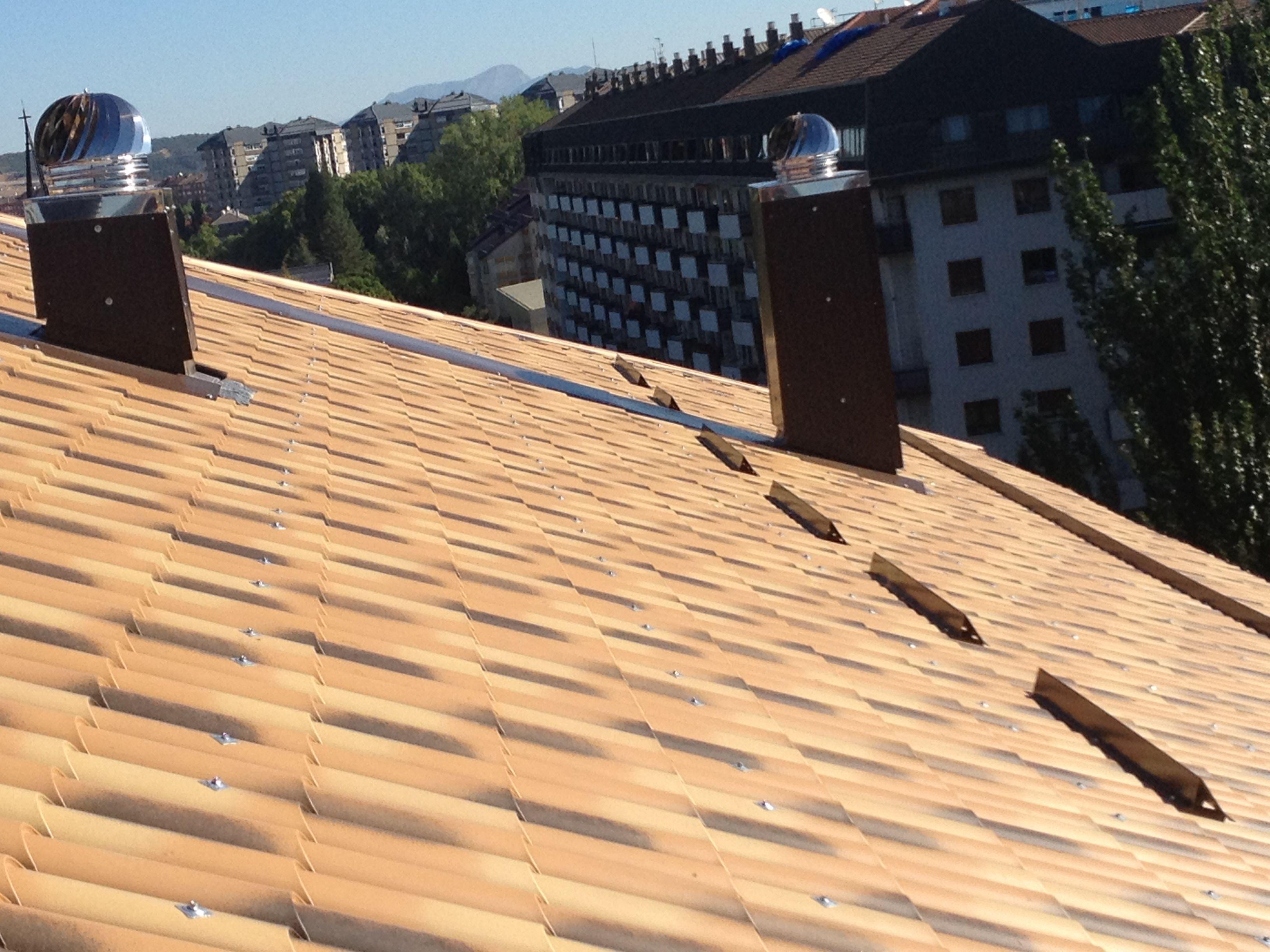Foto 10 de Cubiertas y tejados en Vitoria-Gasteiz | Cubiertas Jesan
