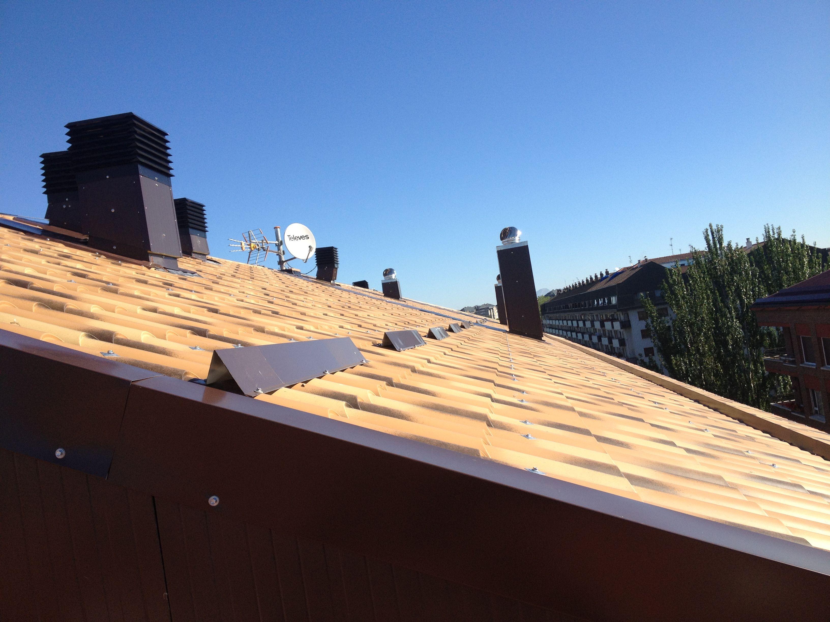 Foto 11 de Cubiertas y tejados en Vitoria-Gasteiz | Cubiertas Jesan