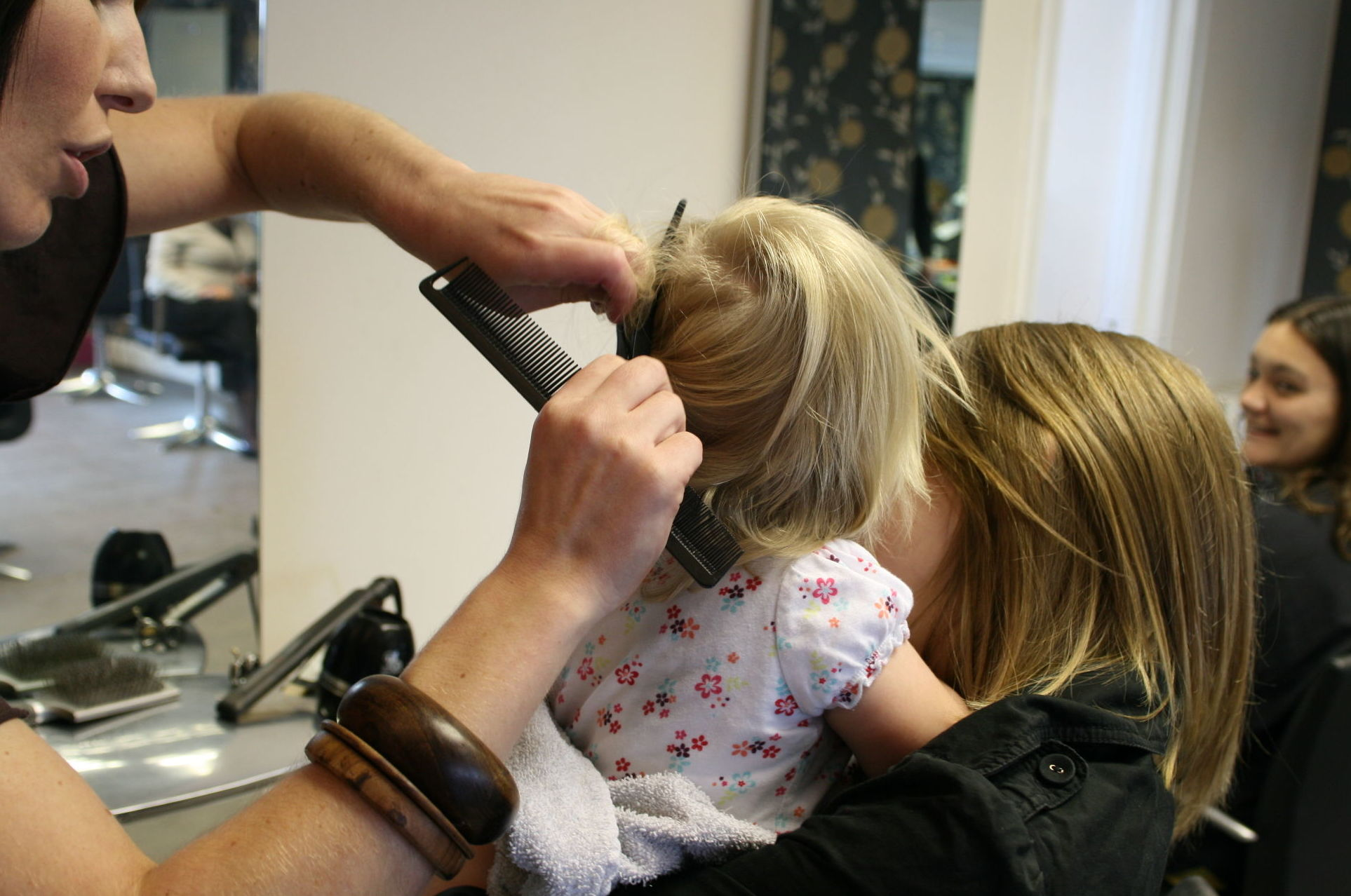 Corte de pelo a niños