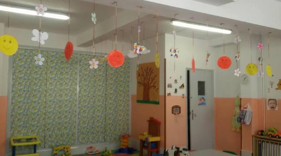 Una de nuestras clases decoradas