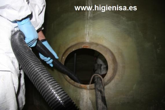 Legionella Limpieza desinfección depósitos de agua