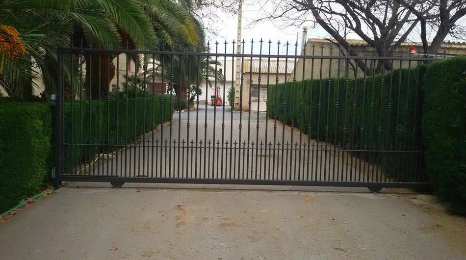 Fabricación de vallas en Riudoms, Tarragona