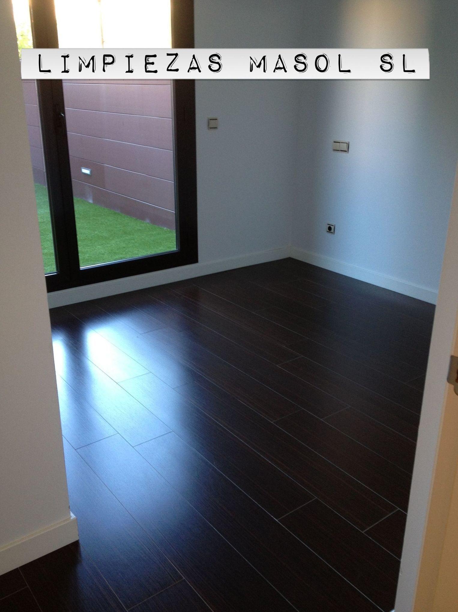 Limpieza de pisos nuevos