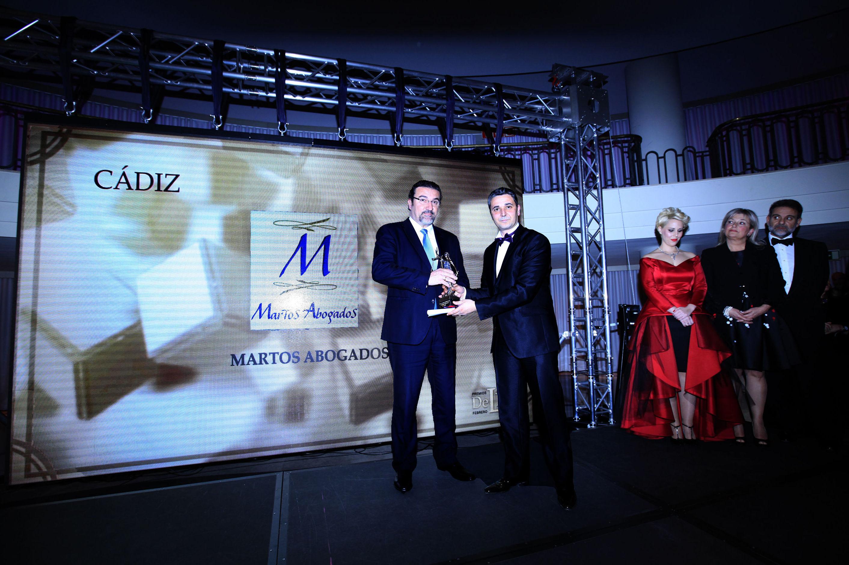 Acto de entrega Premios DE LEY 2.015