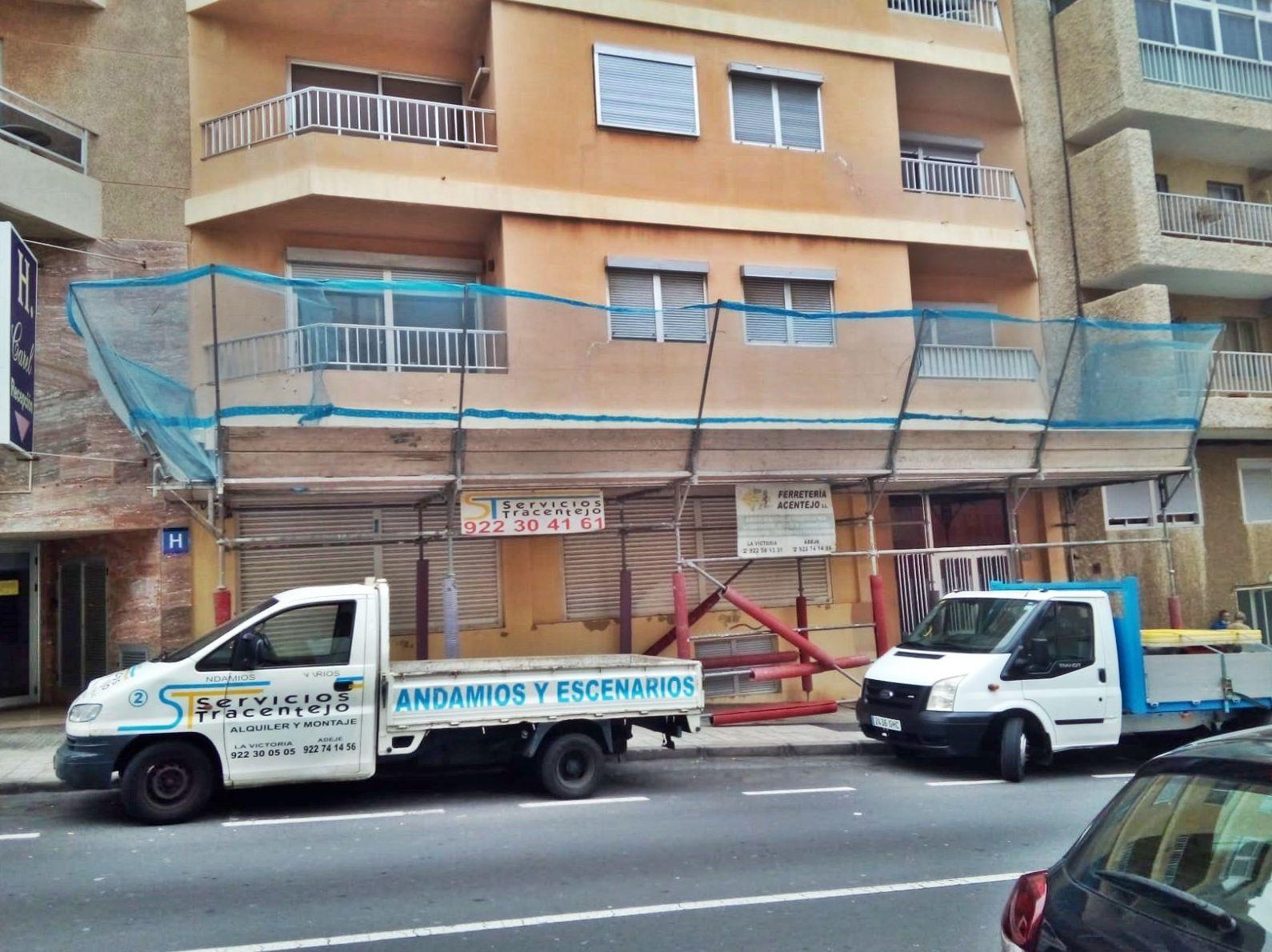 Foto 41 de Andamios en La Victoria de Acentejo | Servicios Tracentejo, S.L.