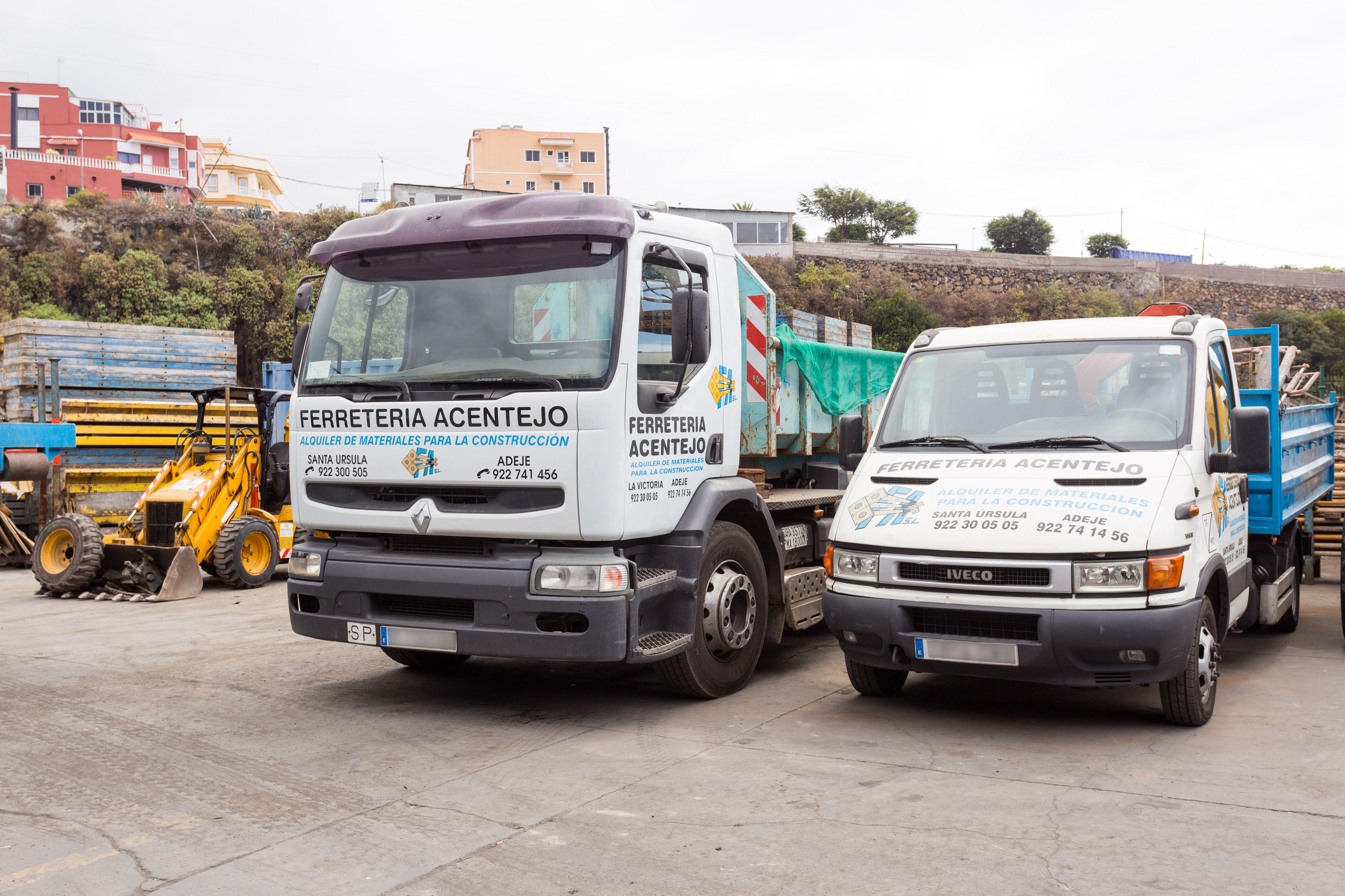 Contenedores y camiones para escombros: Servicios de Servicios Tracentejo, S.L.