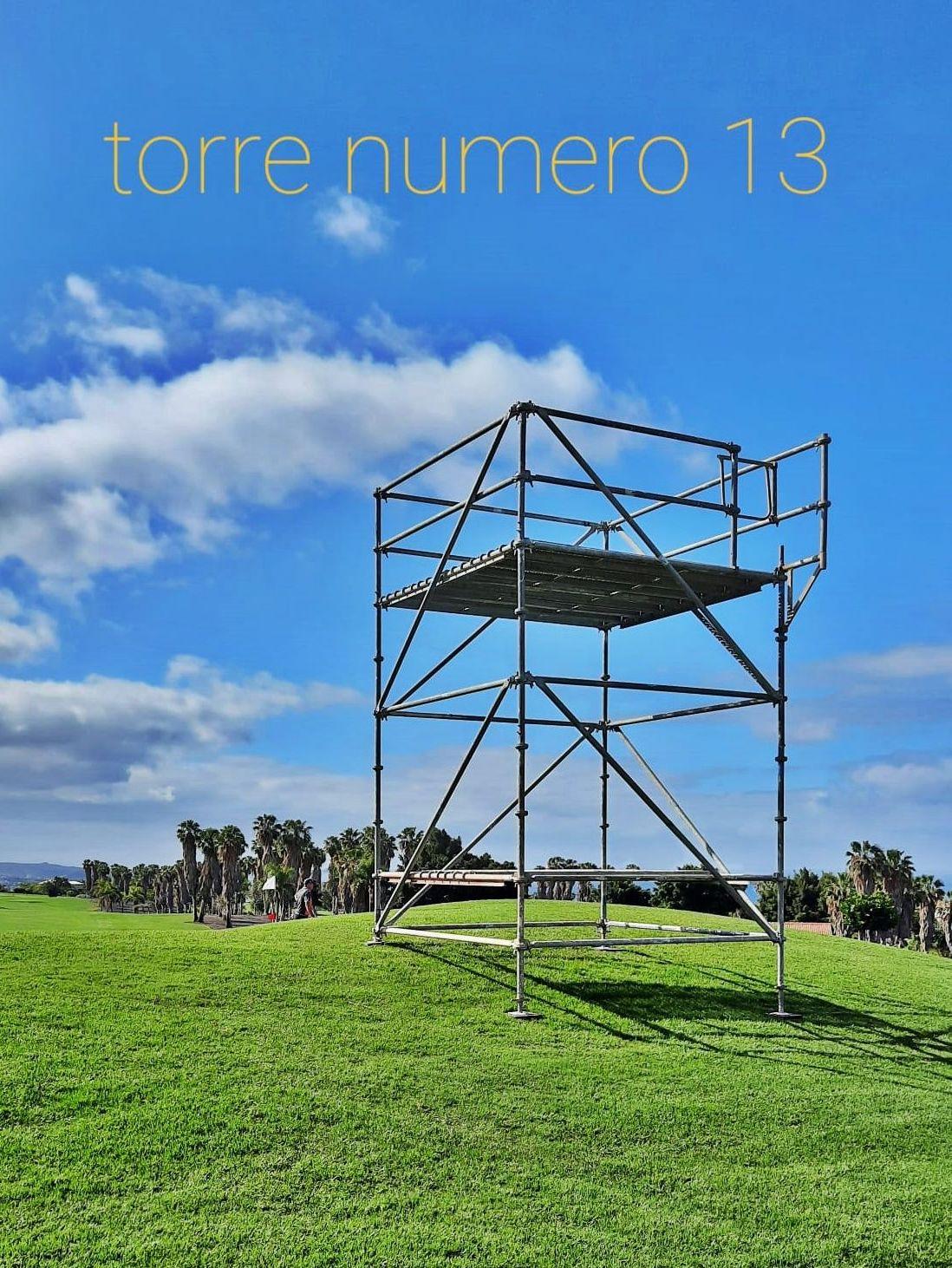 Torre de control para el Tenerife Open. Golf Costa Adeje.