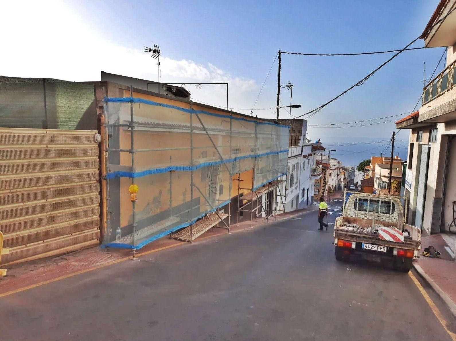 Foto 2 de Andamios en La Victoria de Acentejo | Servicios Tracentejo, S.L.
