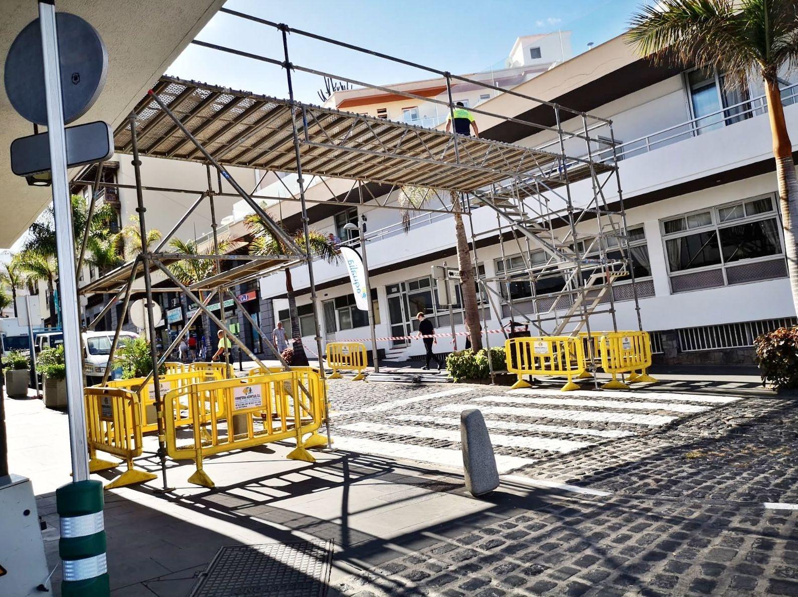 Foto 1 de Andamios en La Victoria de Acentejo | Servicios Tracentejo, S.L.