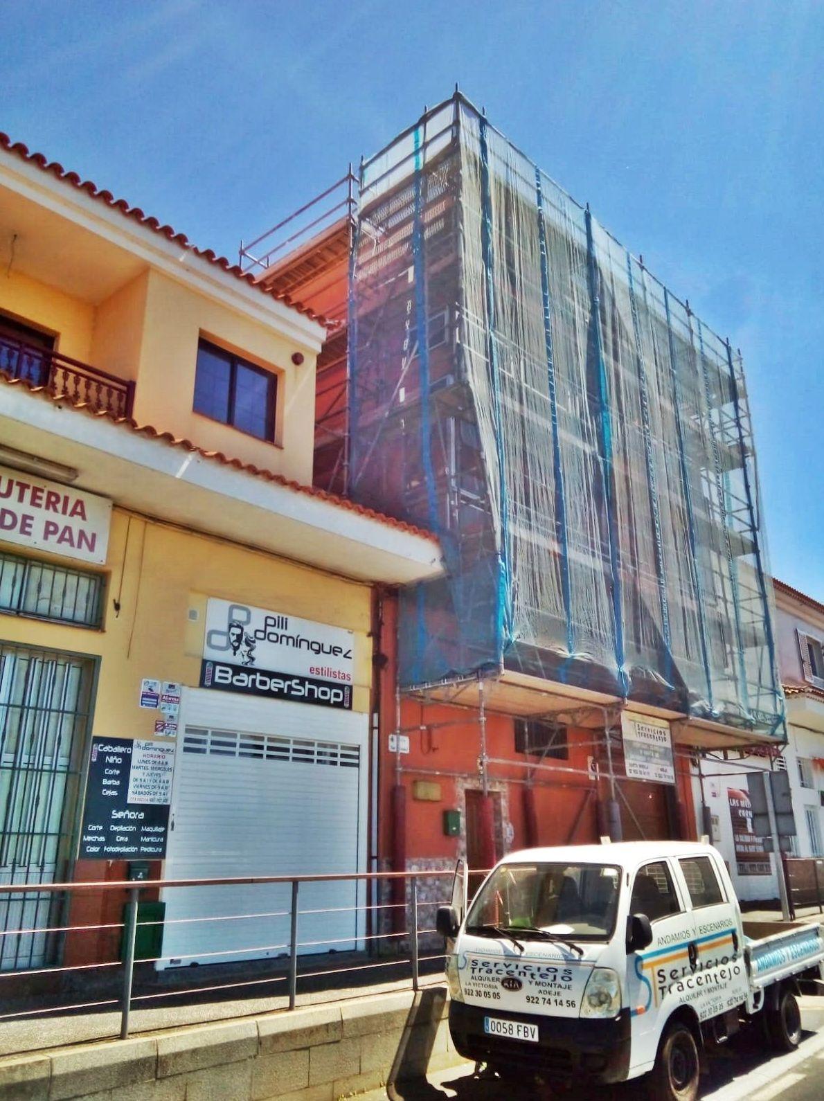 Foto 300 de Andamios en La Victoria de Acentejo | Servicios Tracentejo, S.L.