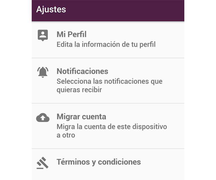 Aplicación gratuita con total privacidad