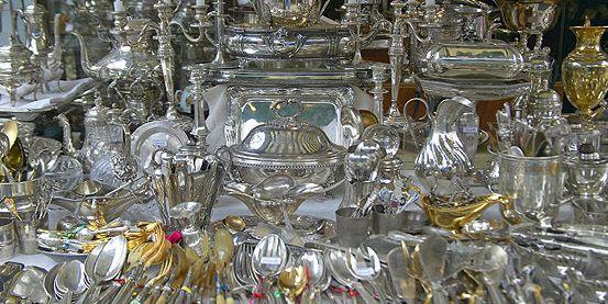 Compra de objetos de plata en Madrid