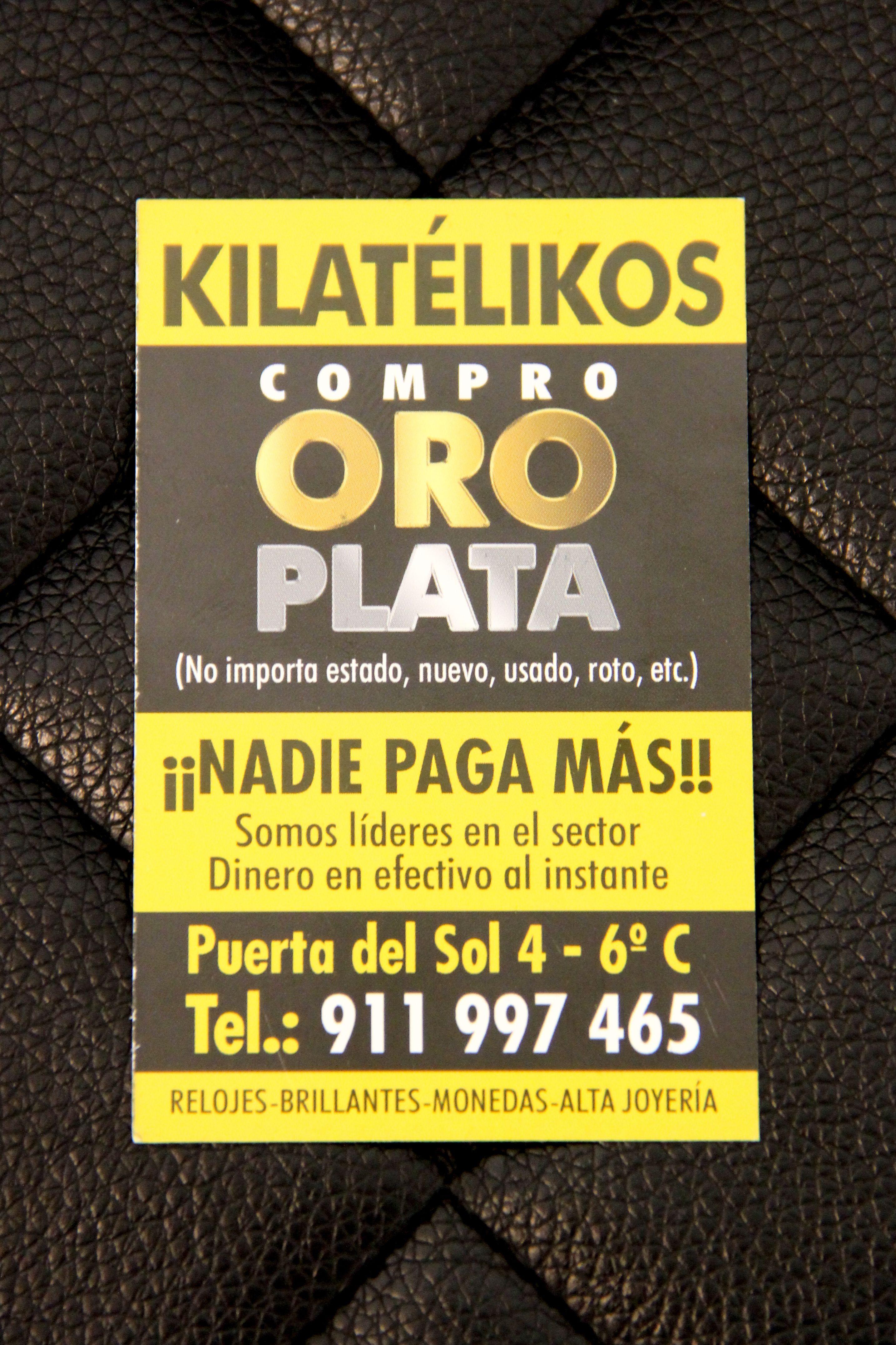 Compra de oro y plata al mejor precio en Madrid