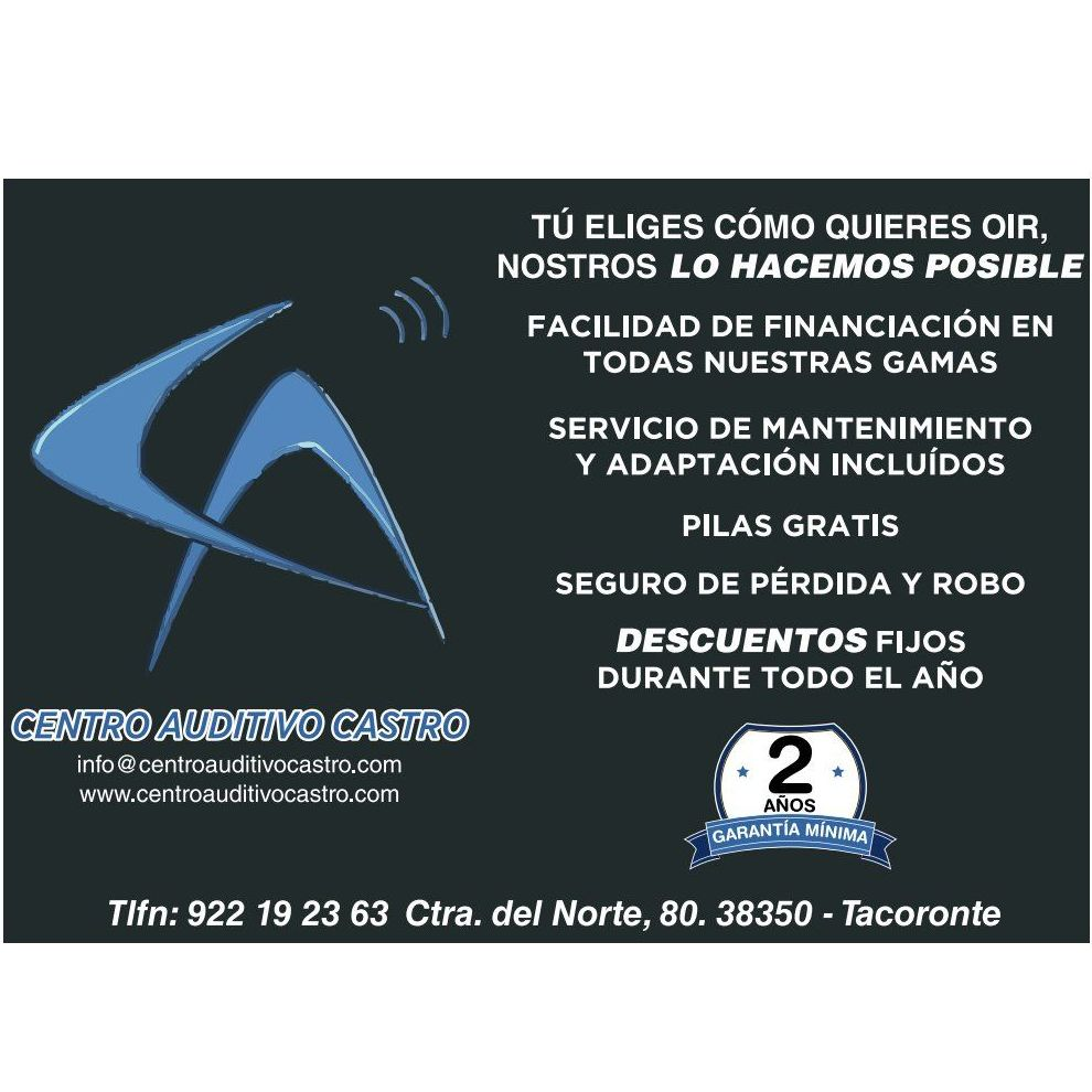 Descuentos y financiación en Centro Auditivo Castro