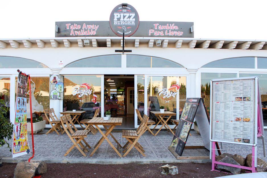 Pizz Burger, en Playa Blanca, Lanzarote