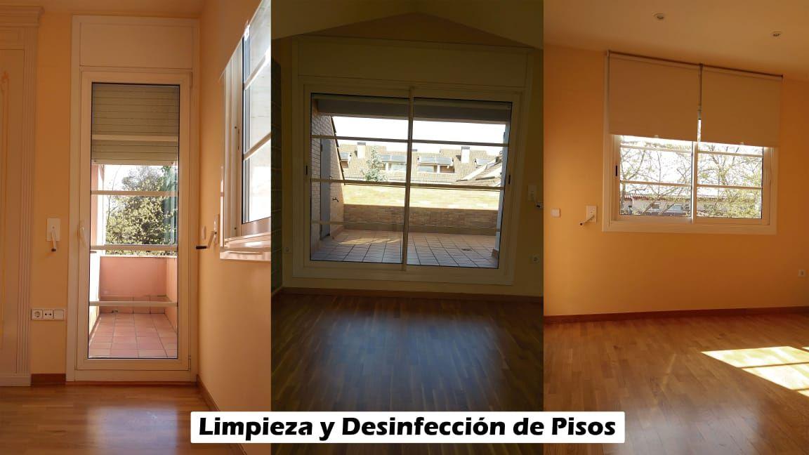Limpieza y desinfección de pisos