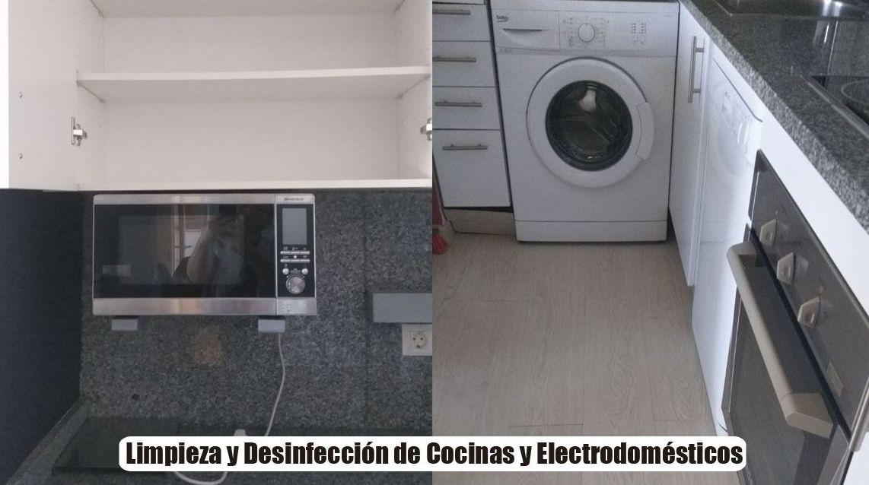 Limpieza y Desinfección de cocinas y electrodomésticos
