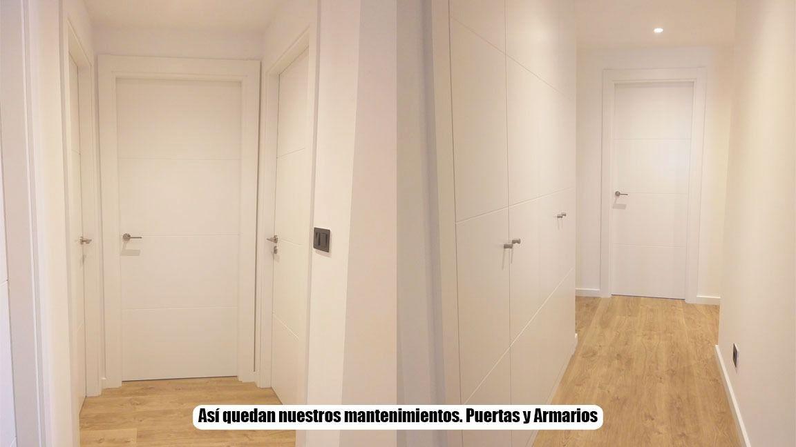 Mantenimiento de puertas y armarios