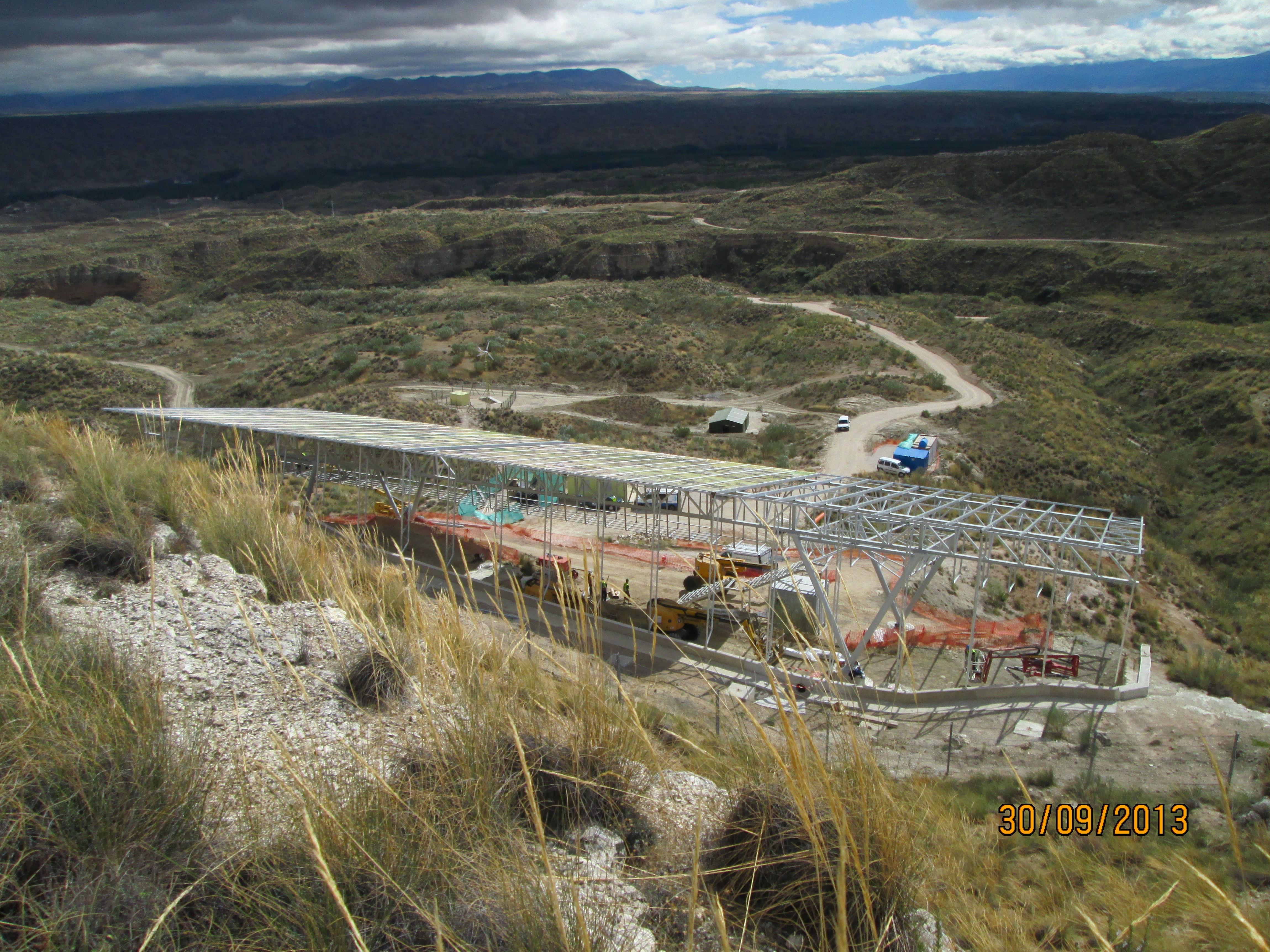 """VISTA GENERAL - Estación Paleontológica """"Valle del río Fardes"""" - YACIMIENTO PALEONTOLOGICO - FONELAS P-1 (GRANADA), Promotor; INSTITUTO GEOLÓGICO Y MINERO DE ESPAÑA (IGME)"""