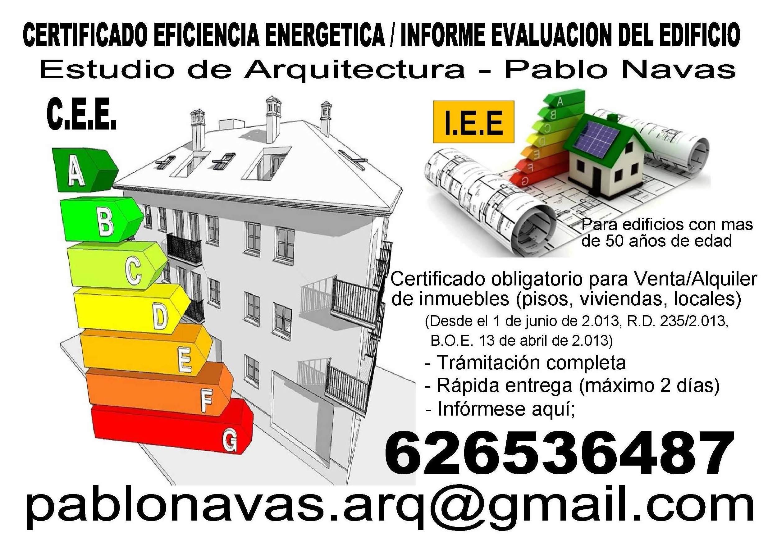EFICIENCIA ENERGETICA EN GRANADA - INFORME EVEALUACION DEL EDIFICIO