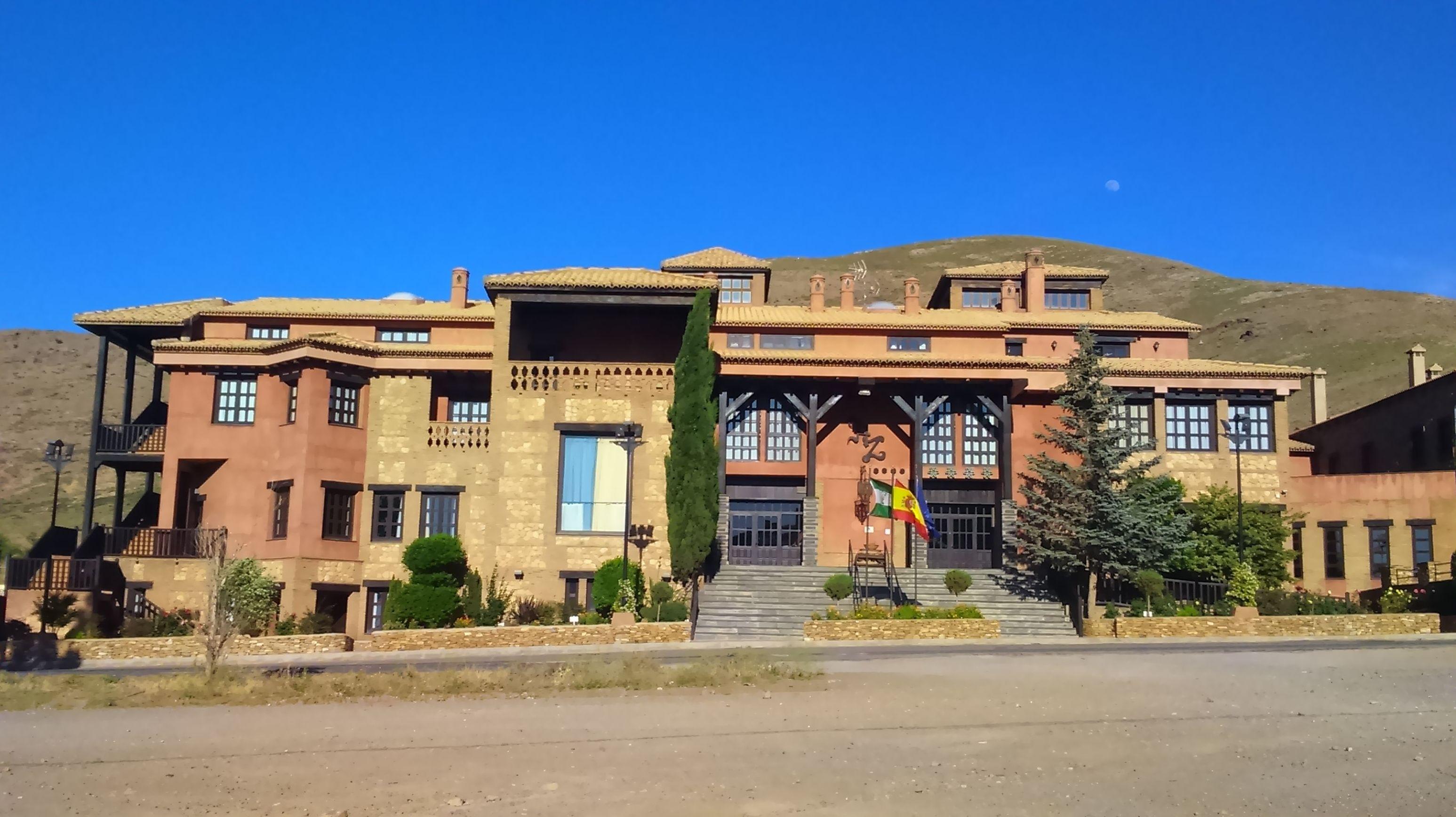 HOSPEDERÍA DEL ZENETE (HOTEL * * * * ) - LA CALAHORRA (GRANADA) - DIRECCIÓN DE OBRA
