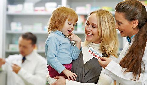 Alimentación infantil y productos de parafarmacia