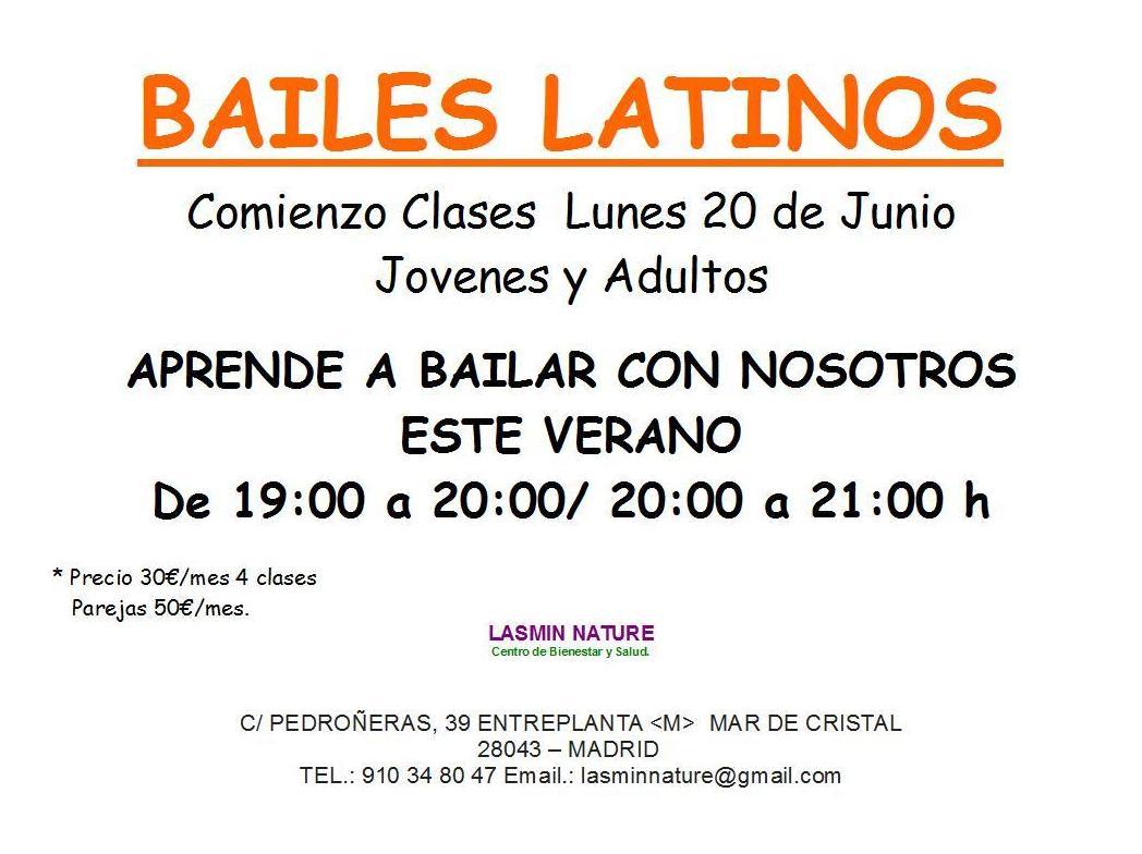 Clases de baile Latino en Madrid (bachata, merenge, salsa, etc)