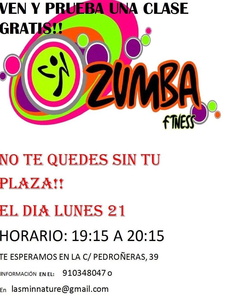 Clase Gratis Zumba Hortaleza