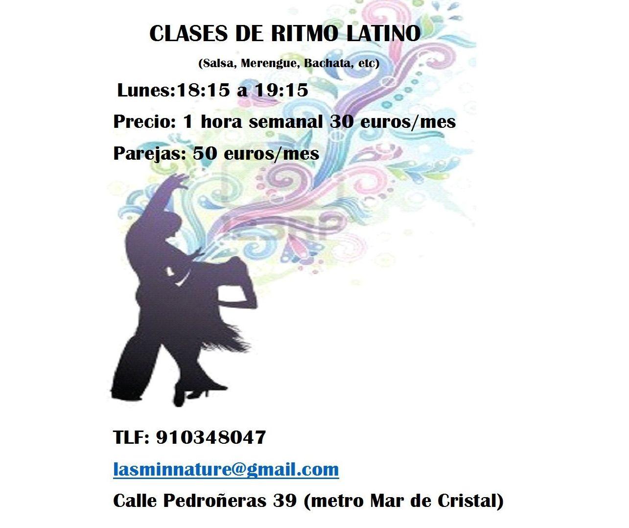 Clases de Ritmos Latinos