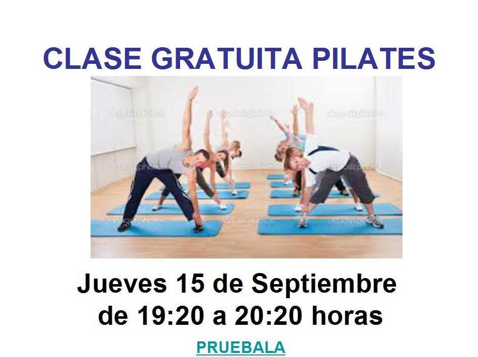Clase Gratuita Pilates